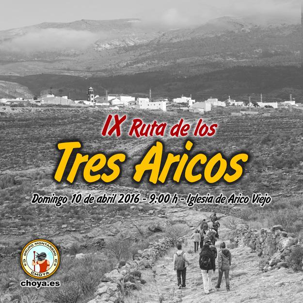 IX Ruta de los Tres Aricos - Arico - Tenerife